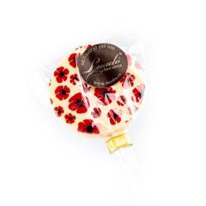 Lolly ciocolată albă